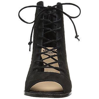 Vince Camuto mulheres trevan camurça aberto Toe tornozelo moda botas