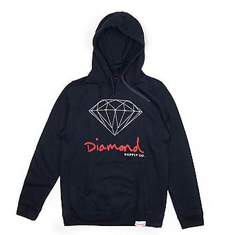 Diamond Supply Co. OG signe Core Hoodie Navy