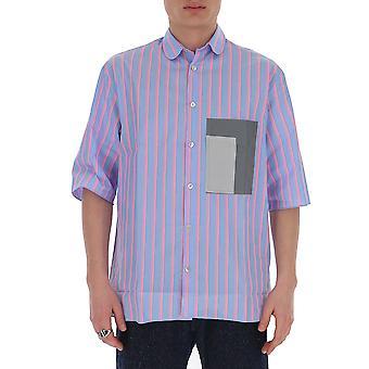 Corelate 145a202169 Men's Light Blue Cotton Shirt
