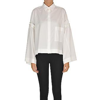 Yohji Yamamoto Ezgl123005 Women's White Cotton Shirt