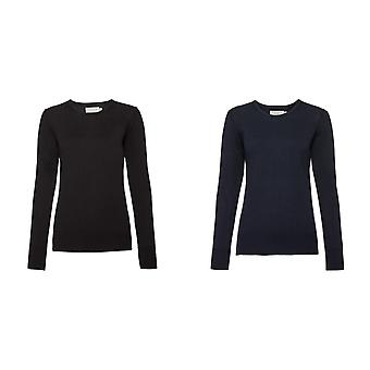 Russell Collection Womens/Ladies Crew Neck Knitted Pullover Sweatshirt