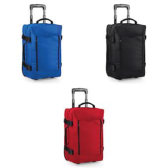 Bagbase Escape Dual-Layer Cabin Wheelie Travel Bag/Suitcase (40 Litres)