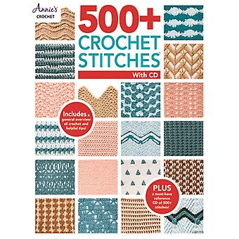 500 Crochet Stitches with CD by Annie s Crochet