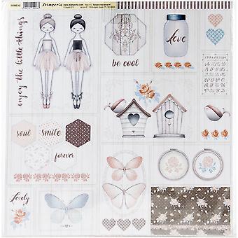 Stamperia Doppelseitige Papierpack 12
