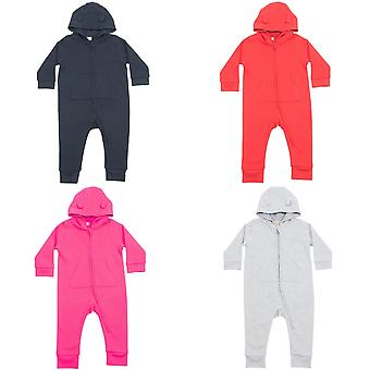 Larkwood Baby Unisex Fleece all-in-One kruippakje