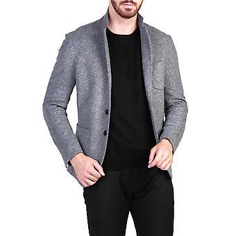 Made in Italia Original Men Fall/Winter Formal Jacket - Grey Color 29762