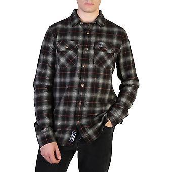 Superdry Original Herren Herbst/Winter Shirt - grau Farbe 37784