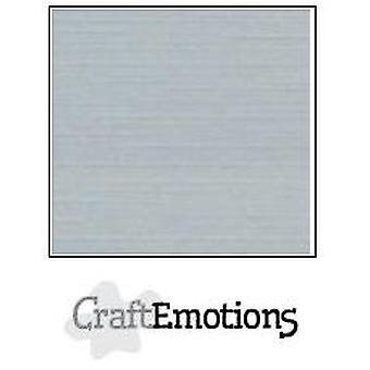 CraftEmotions linnen karton 100 Sh grijze Bulk LHC-71 A4 250gr