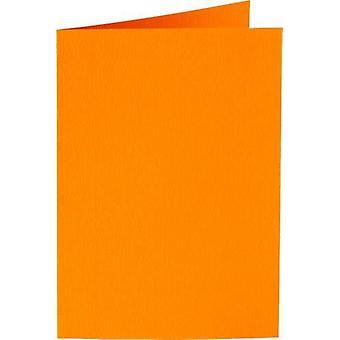 Papicolor Double card A6 orange 200gr 6 pc 309911- 105x148 mm