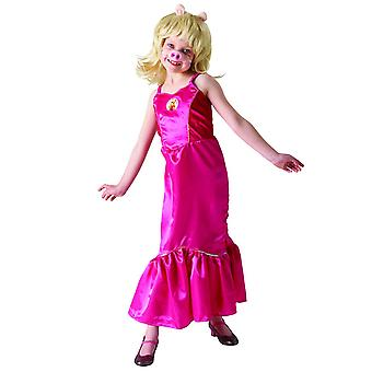 The Muppets Childrens/Kids Deluxe Miss Piggy Costume