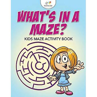 Whats in a Maze Kids Maze Activity Book by Kreative Kids