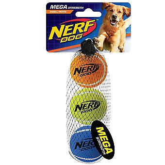 Nerf Dog Mega Strength 2inch Tennis Balls  (3pk)