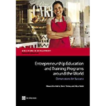 Utbildning och utbildningsprogram för entreprenörskap runt om i världen dimensioner för framgång av Valerio & Alexandria