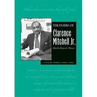 Legitimationshandlingar av Clarence Mitchell jr. - 1946-1954 - v. 3 - NAACP arbete sec