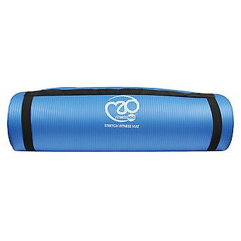 Fitness-Mad Stretch Fitness Mat 10mm - Bleu