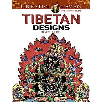 Creative Haven Tibetan Designs Coloring Book by Marty Noble - 9780486
