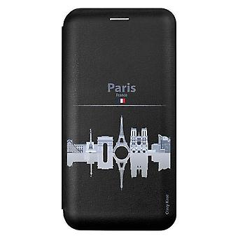 Sag for Huawei P Smart 2019 Sort motiv monumenter de Paris