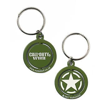 Offiziellen Call of Duty Freiheit Sterne Spinner Schlüsselanhänger