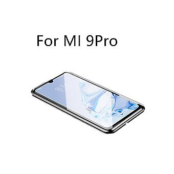 Mobile case with double-sided tempered glass Xiaomi Mi 9 Pro - Black