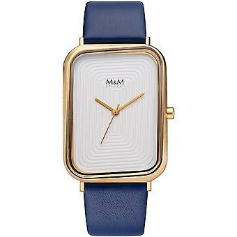 M-amp;M Allemagne M11947-927 Square line Ladies Watch