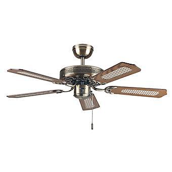 Fan de plafond Paloma Slimline 103cm / 41-quot; avec cordon de traction