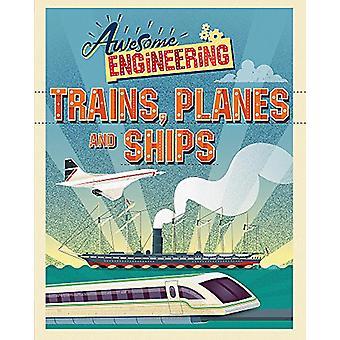 Awesome Engineering - tog - fly og skip av Sally Spray - 97814