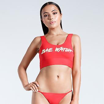 Golddigga Slogan Bikini Top Ladies