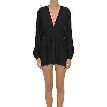 Iro Ezgl180042 Women's Black Acetate Dress