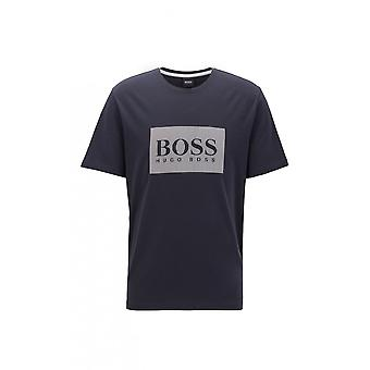 Hugo Boss Leisure Wear Hugo Boss Men's Open Blue Fashion T-shirt