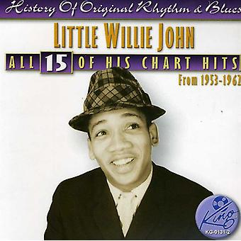 Little Willie John - All 15 of His Chart Hits [CD] USA import