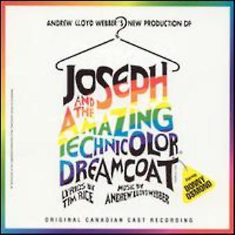 Andrew Lloyd Webber - Joseph and the Amazing Technicolor Dreamcoat [Original Canadian Cast] [CD] USA import