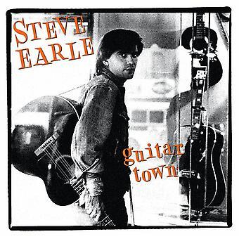 Steve Earle - Guitar Town (LP) [Vinyl] USA import