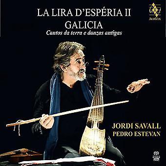 サヴァール/エステンバン - ラ リラ D'Esperia II ガリシア Cantos Da テラ E ダン [SACD] USA 輸入