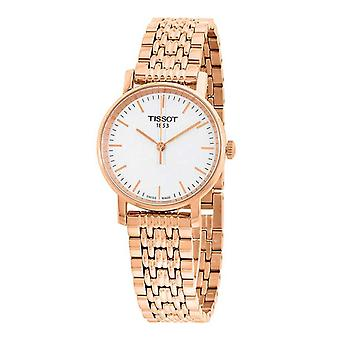 Tissot T109.210.33.031.00 Small White Dial Ladies Watch