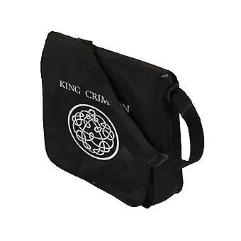 King Crimson Messenger Bag Flaptop Vinyl Band Logo new Official Black
