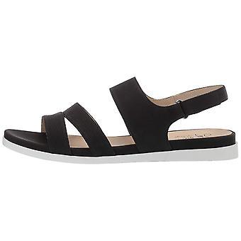 LifeStride Women's Ashley 2 Flat Sandal Black 9 N US