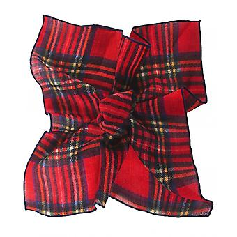Hackett Wool Tartan Stewart Pocket Square