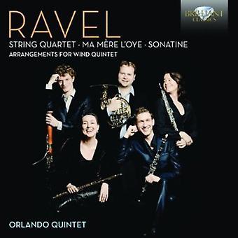 M. Ravel - Ravel: Quatuor à cordes; Ma M Re l'Oye; Sonatine (Arrangements pour quintette à vent) [CD] USA import