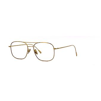 Cutler and Gross 1267 GPL Gold Plated-Clear Glasses