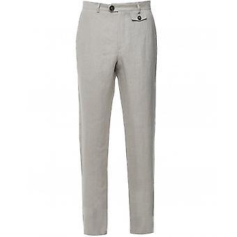 Oliver Spencer Linen Fishtail Trousers