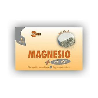 Wayflash Magnesium + Vitamin B6 30 tablets