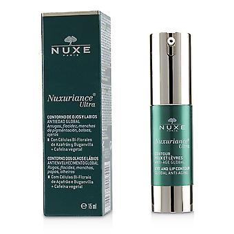 Nuxuriance ultra wereldwijde anti-aging oog & lip contour crème 234026 15ml/0.5oz