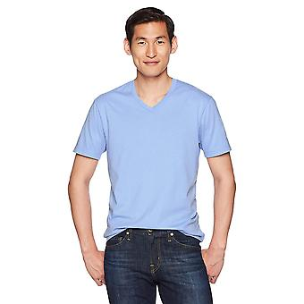 "Goodthreads Men's ""The Perfect V-Neck T-Shirt"" Short-Sleeve Cotton, Hellblau, Medium"