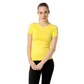 Jerf Womens Rodia Yellow Semeado Performance Tee Shirt
