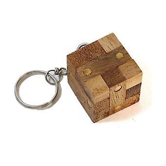 Locking Puzzle Keychain