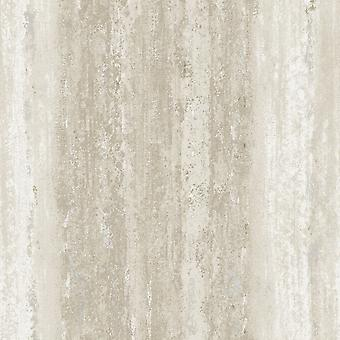 Vesuv Distressed Streifen Tapete Taupe Holden 65082