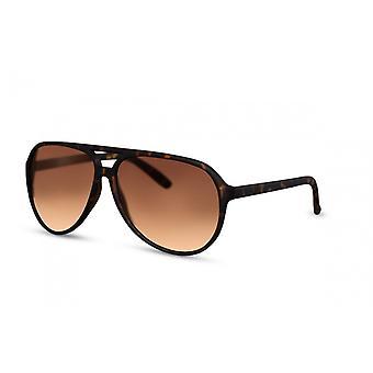 النظارات الشمسية الرجال الطيار الرجال كات. 3 بني (CWI1580)