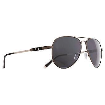 משקפי שמש גברים Maveric של טיטניום / שחור