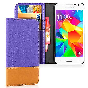 Mobile Shell Wallet for Samsung Galaxy J3 (2016) Mobile Shell Full Cover Leatherette