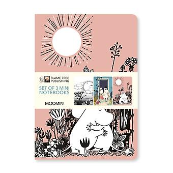 Moomin Mini Notebook Collection door gemaakt door Flame Tree Studio